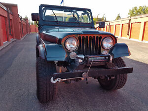 1981 JEEP CJ 5 / CUSTOM BUILT