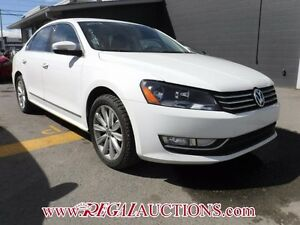 2012 VOLKSWAGEN PASSAT HIGHLINE 4D SEDAN 2.5L AT HIGHLINE