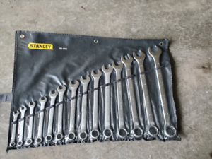 1 SET STANLEY WRENCH