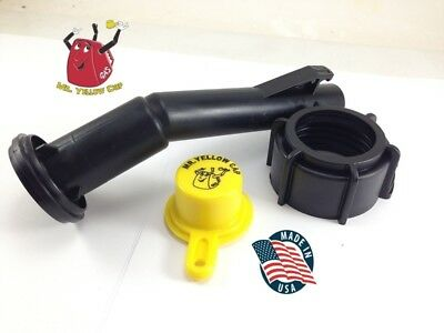 1 - Blitz Gas Can Nozzle Spout Ring Cap Replacement Vintage Chilton Scepter -new