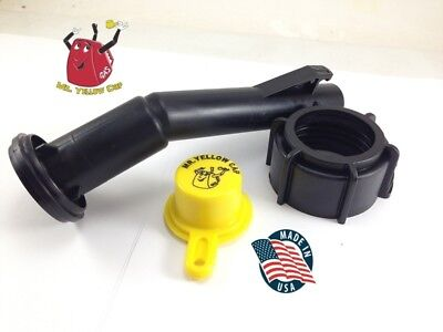 1 - Blitz Gas Can Nozzle Spout Ring Cap Replacement Vintage 900092 900094 - New