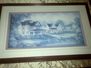 Victorian setting Framed Picture