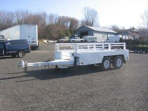 TANDEM AXLE- HEAVY-DUTY UTILITY TRAILER