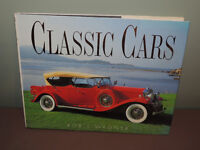 CLASSIC CARS HARD COVER BOOK