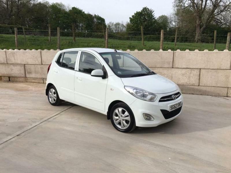 2012 62 HYUNDAI I10 1.2 ACTIVE 5D 85 BHP PERFECT FIRST CAR LOW MILEAGE