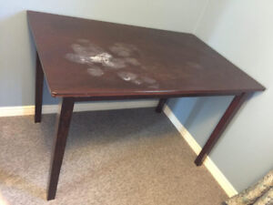 Dining table for four people