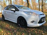 *12 MTHS WARRANTY*2012(12)FORD FIESTA 1.6 METAL LIMITED EDITION 3DR WITH 31K FSH
