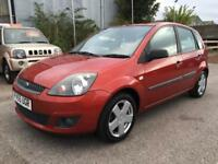 2006 Ford Fiesta Hatch 5Dr 1.25 75 Zetec Climate 5 Petrol red Manual
