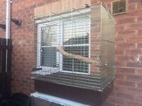 Medium bird cage conure cockatiel etc