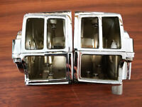 Chrome Switch Housings f/Harley Davidson 82-95