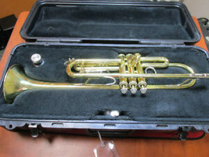 BIG DEAL!! USED BACH TR300H STUDENT TRUMPET $200!!