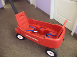 RED RADIO FLYER WAGON FOR SALE