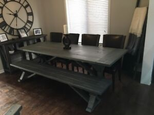 Rustic Farm Style Harvest/Dining Tables - NEW