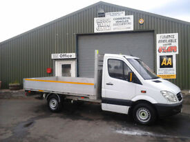 Mercedes-Benz Sprinter 2.1TD 313CDI MWB Drop side/ flatbed/ pickup 12ft body