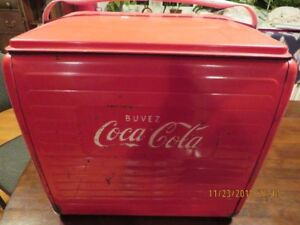 1955 coca cola cooler FRENCH