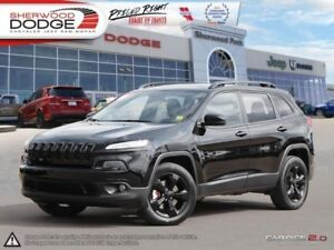 2017 Jeep Cherokee Limited  HIGH ALTITUDE PKG | FULL SUNROOF
