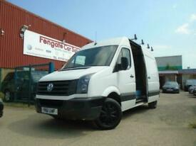 Volkswagen Crafter 2.0 TDI CR35 High Roof Van MWB ONLY 55K SH B/TOOTH 2 OWNERS