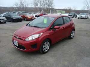 2012 FORD FIESTA SE 4DR RED IN COLOR $4995 PLUS THE HST