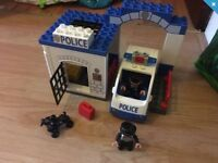 Lego Duplo Three Sets - Police Station, Zoo Keeper & Winnie The Pooh