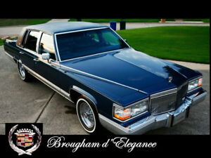 Want to buy- 1990 to 1992 Cadillac Brougham D'Elegance