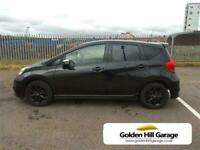 2016 Nissan Note 1.5 BLACK EDITION DCI 5DR MPV Diesel Manual