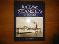 Railway Steamships of Ontario by Dana Ashdown