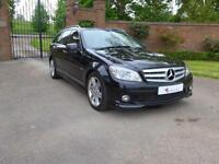 2011 Mercedes-Benz C Class 2.1 C200 CDI BlueEFFICIENCY Sport 5dr Estate in Black