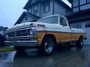 1972 Ford F100 daily driver - big rat rod potential!