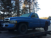 Parting out a 2000 and a 2001 dodge truck