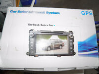 Car Entertainment Multimedia System with GPS and Bluetooth