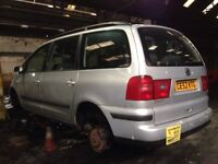 Seat Alhambra BREAKING spares for repair 1.9 tdi pd 115 6 speed