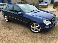 2004 '04' Mercedes C180 Avantgarde KOMPRESSOR. Petrol. Auto. Estate. Px Swap