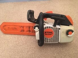 Stihl ms200t top handled chainsaw
