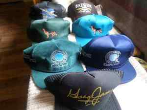 6  NEW COLLECTABLE HATS NEVER WORN