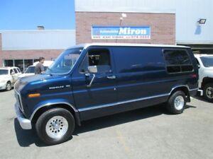 Ford Econoline Cargo Van E150 1989