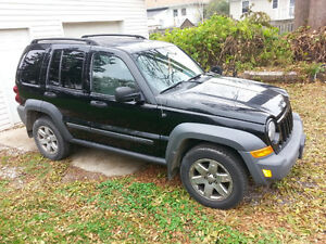 2007 JEEP LIBERTY- TRAIL EDITION- make an offer, must sell