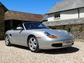 Porsche 986 Boxster 2.7 - very low mileage, highly original