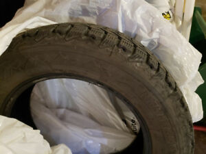 Firestone winter force 185/65/15 winter tires like new.