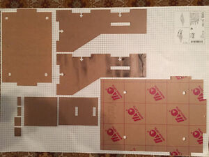 New Unused LARGE Laser-Cut Clear Acrylic 3D Printer FRAME West Island Greater Montréal image 2