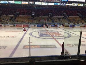 Kitchener Rangers Sec 13 Gold tonite vs Kingston