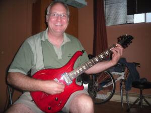 Guitare Siver Star''show piece au Namm show'' 2011