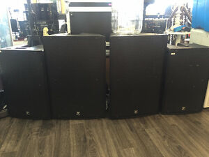 Yorkville ps15,10,12p Speakers Tracker #2 SALE or Trade