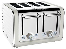 Dualit Architect 4 Slot Cream Toaster - BRAND NEW
