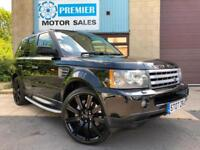 2007 RANGE ROVER SPORT 2.7 TD V6 HSE AUTO, SAT NAV, FRONT & REAR HEATED LEATHER