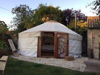 Beautiful 5 meter yurt