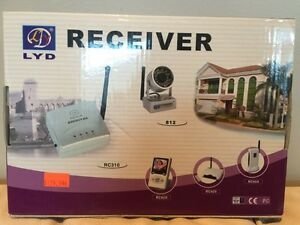 Wireless night vision camera and receiver