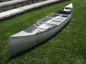 Rare 15ft 1946 Grumman Aluminum Canoe- Unique