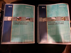 Ontario Building Code OBC Study Manuals