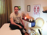 Massage 6e sens  35$ / 60min  et 50$ / 90min
