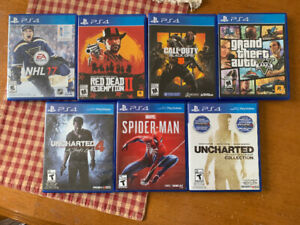PS4 slim 1tb w/controller, docking station, games, and grips